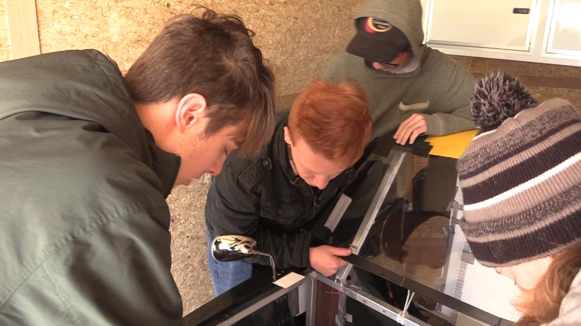 (VIDEO) Hoosier Crane Donates To Northridge High School
