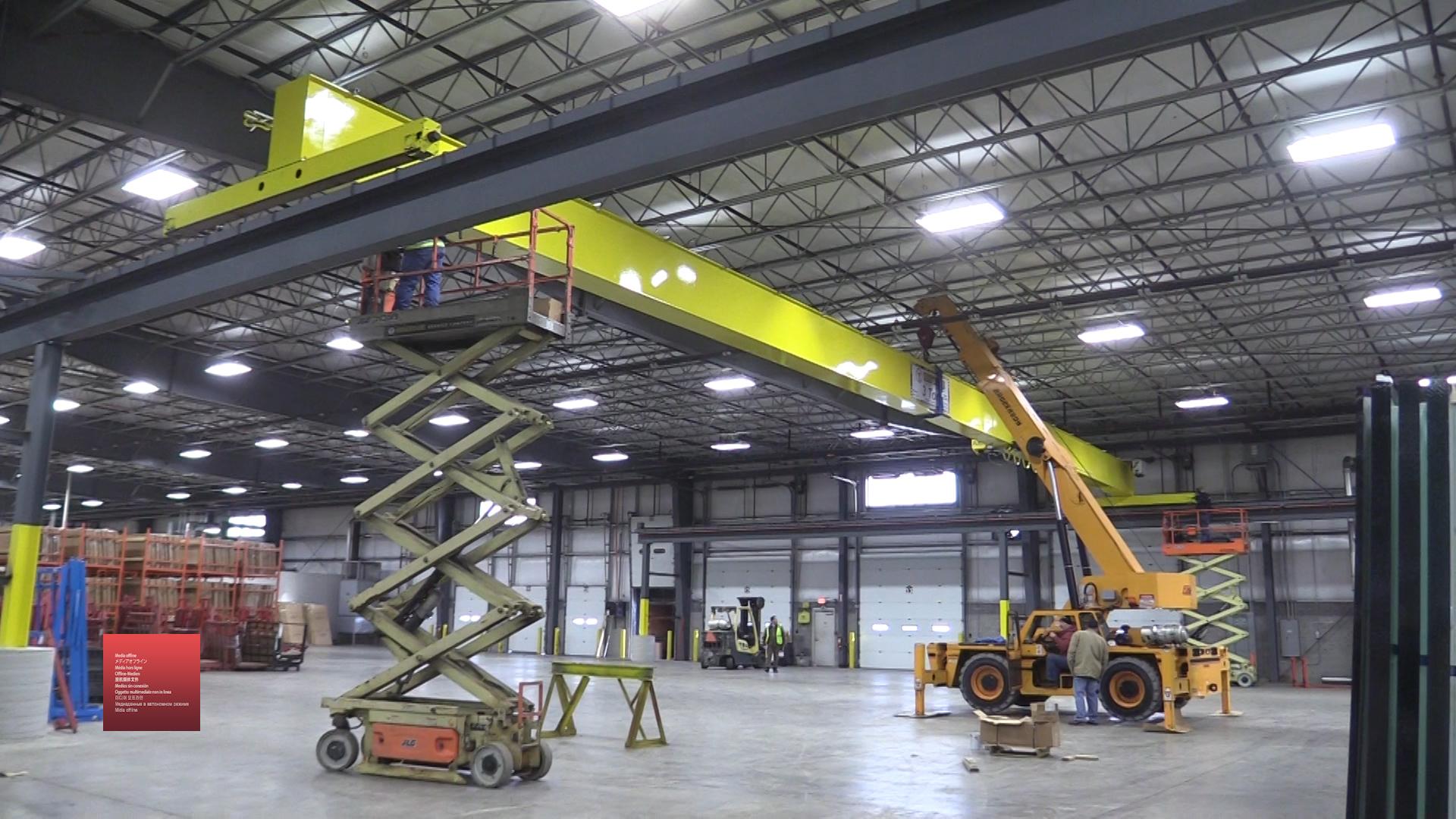 (VIDEO) A Hoosier Crane Installation In 60 Seconds