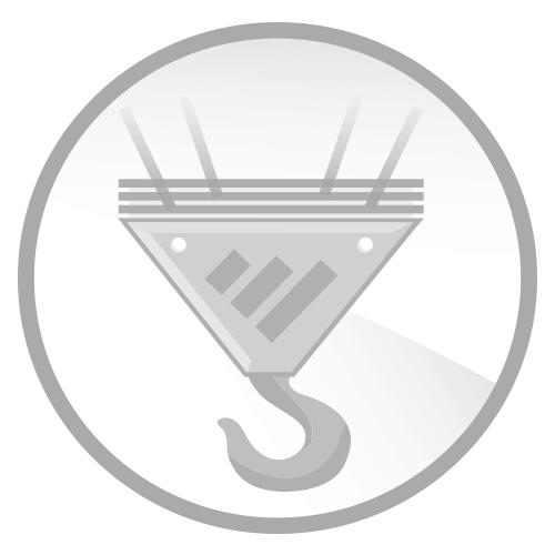 "Renfroe Model JPA ½ Ton Horizontal to Vertical Lifting Locking Clamp .75"" - 1.25"""