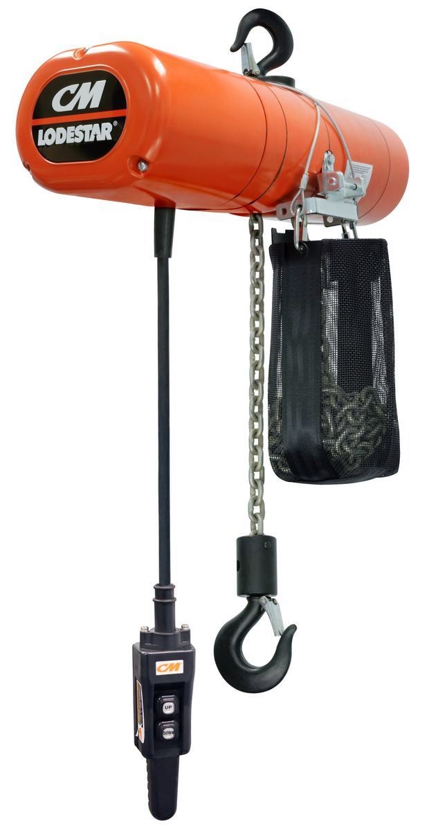 1 2 ton CM Lodestar 3152NH Model FElectric Chain Hoist