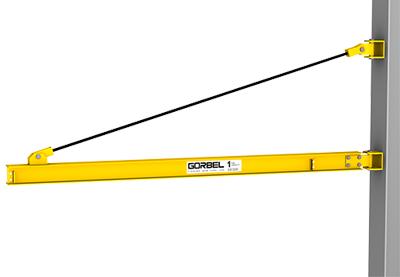 Gorbel 5 Ton Wall Bracket Jib Crane
